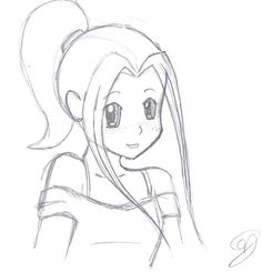 cute anime girl easy to draw - Google Search
