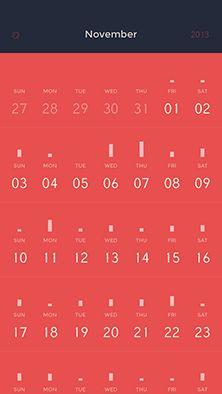 Peek Calendar1 Calender App, Flat Ui, Animal Logo, Mobile Design, User Interface, Ui Design, Online Marketing, Infographic, Apps