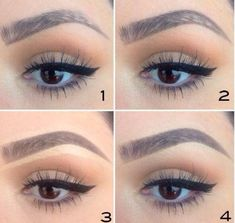 eyebrow tutorial without plucking - Google Search