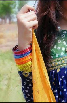 India colourful bangles