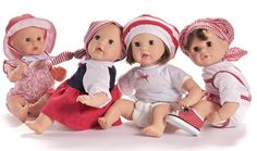 Amalia, Alexia, Leonie en Esmeralda