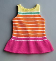 Kız Bebeklere Örgü Elbise Modelleri 132 - Mimuu.com