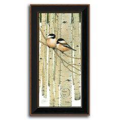 Love Birds Framed Canvas Art by Scott Kennedy, Multicolor Canvas Frame, Canvas Art, Canvas Prints, Framed Wall Art, Framed Art Prints, Bird Artists, Love Birds, Authenticity, Giclee Print