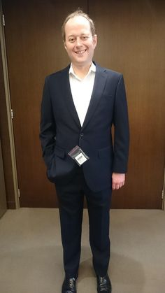 Meet Nicholas Hamer - partner at PwC Hong Kong and Mainland China who demonstrates his new LGFG bespoke suit from our London line.