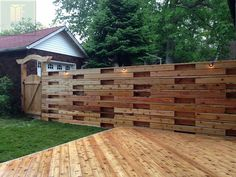 free standing fences - Google Search