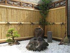 Japanese Garden Fence Design unique fencing Veranda Japanese Garden Bamboo Fence
