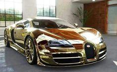 Golden Bugati