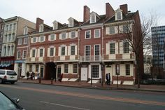 Franklin Court- the home of Ben Franklin