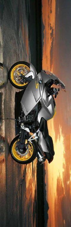 BMW K1200S sunset, gray, http://www.PashnitMoto.com #bmw #motorcycle #k1200s