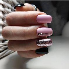 20 Popular Nail Art Ideas in 2019 Short Nail Designs, Fall Nail Designs, Cute Nail Designs, Summer Gel Nails, Feather Nails, Elegant Nail Art, Gel Nagel Design, Nagel Gel, Easy Nail Art