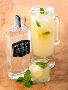 """A Gin Cocktail For All: A cocktail that's so delish even gin haters will be asking for another one. Lovin' the """"Puttin' on the Spritz"""" from Aviation American Gin.  #SelfMagazine"""