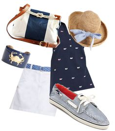 """""""Nautical Navy"""" by preppypuppy ❤ liked on Polyvore"""