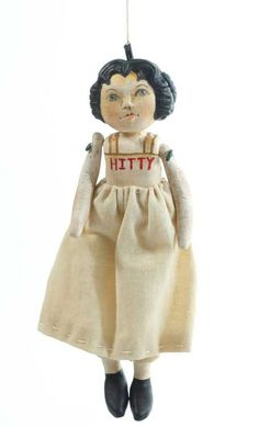Hitty Ornament by Sherry Goshon at The Toy Shoppe