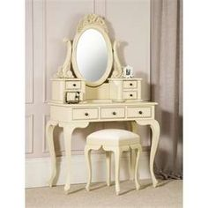 Found it at Wayfair.co.uk - Vintage Dressing Table Set with Mirror ...