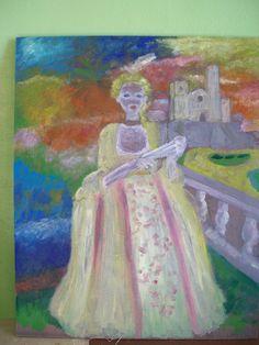 Carnaval, cuadro de Pacco, óleo sobre tabla.