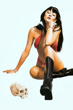 Vampi by Mike Mayhew