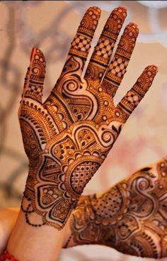 Henna Hand Designs, Mehndi Designs Finger, Modern Henna Designs, Henna Tattoo Designs Simple, Simple Arabic Mehndi Designs, Full Hand Mehndi Designs, Stylish Mehndi Designs, Mehndi Designs For Beginners, Mehndi Designs For Fingers