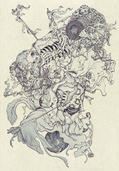 Nest II by James Jean