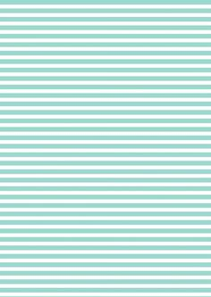 FREE printable turquoise-white striped pattern paper ^^ DONE Printable Scrapbook Paper, Papel Scrapbook, Printable Planner Stickers, Printable Paper, Free Printables, Scrapbook Albums, Scrapbook Background, Paper Background, Decoupage Paper