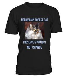 T shirt  Norwegian Forest Cat  fashion trend 2018 #tshirtdesign, #tshirtformen, #tshirtforwoment