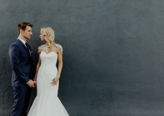 Modern Gatsby wedding at The Fig House in Los Angeles