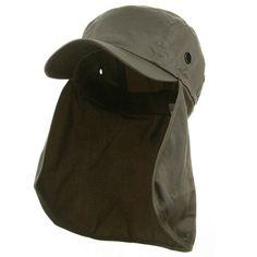 MG Flap Hat (03)-Grey W15S46D