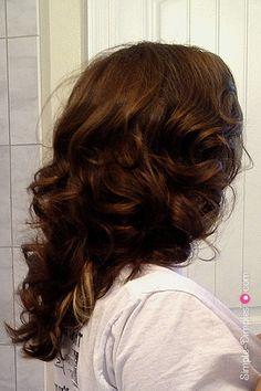 Dimplicity - Crafty Blog: DIY Fabric Hair Rollers