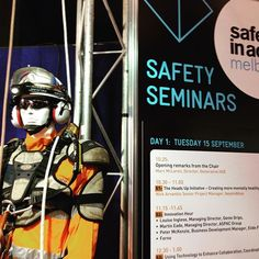 We are at the Melbourne Convention and Exhibition Centre this week for Safety in Action - come say what's up and grab some free giveaways #msasafety #ferno #pelicanproducts #petzl #sundstrom #skylotec #SIA2015 #safetyinaction #safety
