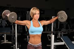 Strength training is the ultimate work out for toning and sculpting. Don't be afraid to pick up the weights.