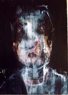 """Saatchi Online Artist: Sean Madden; Acrylic, 2013, Painting """"Portrait"""""""