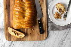 Braided Apple Danish Loaf #pastry #danish