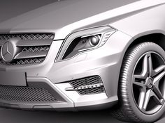 3ds max mercedes benz glk mercedes-benz - Mercedes-Benz GLK 2013 by squir