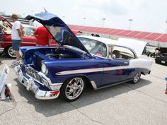 1956 Chevy Bel Air. look just like mine, but I have a 4 door, same color