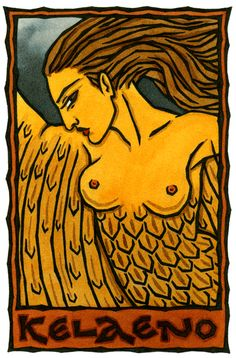 Kelaeno, Greek Goddess of Storms and One of the Harpies