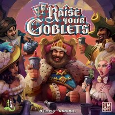 Raise Your Goblets | Board Game