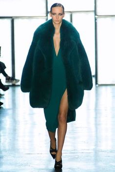 Cushnie et Ochs collection Fall RTW 2015- The color richness here just astounds me