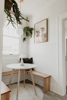 Apr 2020 - A graceful mid-century modern look that's set in stone. Solid wood legs are topped off by an elegant Carerra marble slab for a clean, compact look that's perfect for small spaces. Photo by Carla Natalia. Minimalist Room, Minimalist Studio Apartment, Modern Minimalist, Minimal Apartment, Minimalist Scandinavian, Minimalist Home Decor, Table Cafe, Diy Home Decor, Room Decor
