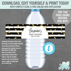 Drink Bottle Label Template New 012 Water Bottle Label Template Free Microsoft Word Ideas Il Make Your Own Labels, Printable Water Bottle Labels, Label Templates, Microsoft Word, Web Application, Drink Bottles, Drinks, Words, Free