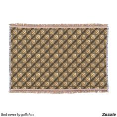 Wrap up with a Rug blanket from Zazzle! Soft & warm throws, fleece, baby blankets & more all in a huge range of designs. Discover your cozy blanket today! Leather Pattern, Photo Memories, Bed Covers, Three Dimensional, Are You The One, Cocoa, Objects, Blanket, Abstract