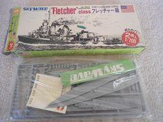 Sky Wave #SW350 1/700 2 US Navy Fletcher Plastic Military Airplane Model Kit #skywave