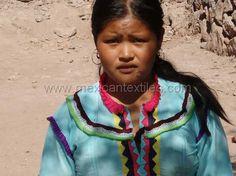 a Cora girl from San Francisco, Nayarit, Mexico