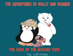 Check out The Adventures of Wally and Warren book series on Amazon.com!! Ages 2-8 #read #children #books #Polar bear #penguin #adventure #Sherlock Holmes #mystery #wallyandwarren