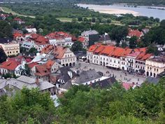 Kazimierz - one of my favorite places we went on out honeymoon.  I loved the village, meeting a gypsy at the market, drinking coffee in the square.  It was a place I could live