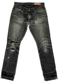 Black (and presumably Selvedge + Raw) jeans from Jean shop.