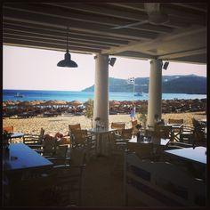 Elia Beach Restaurant, Mykonos