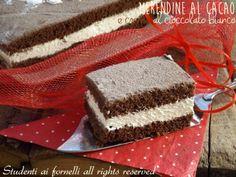 meredine pan di stelle ricetta torta al cacao e cioccolato bianco