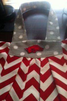 Super cute Razorback purse!!!!!
