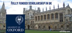 Rhodes Scholarships are awarded for pursuingfull-time postgraduate studiesat the University of Oxford, UK. Rhodes Scholars have selectedfrom many countries around the worldannually.    The Rhodes Scholarships are postgraduate awards supportingoutstanding all-round students at the University of Oxford,