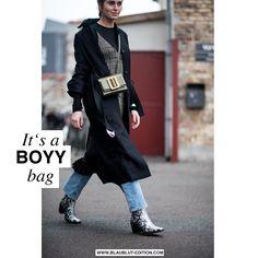 Everybody wants a BOYY...bag!  #blaublutedition #streetstyle