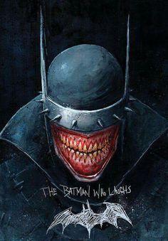 The Batman Who Laughs - Nat Jones - I don't have a board for this but I love him! Comic Book Characters, Comic Character, Comic Books Art, Comic Art, Comic Villains, Logo Super Heros, Dark Knights Metal, Batman Metal, Joker Art